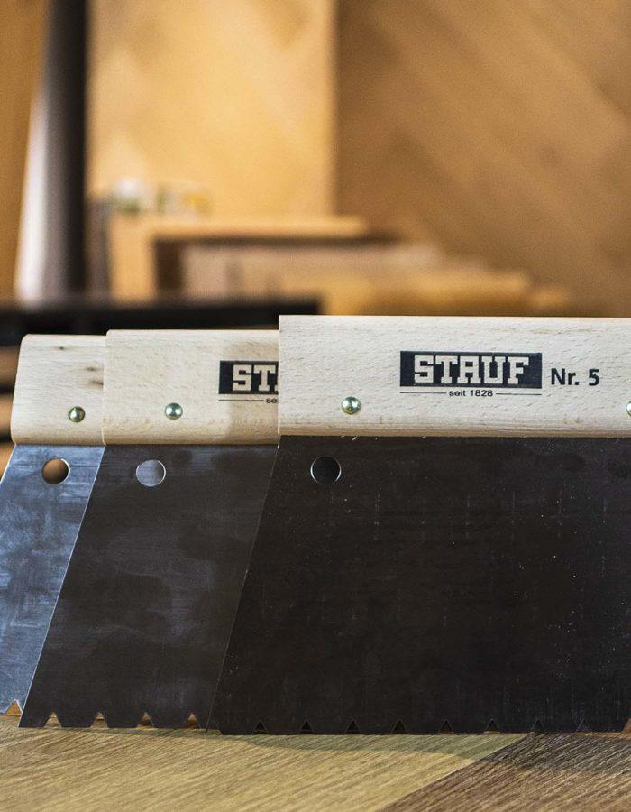 Stauf Zahnspachtel für Vinylböden Nr. 2