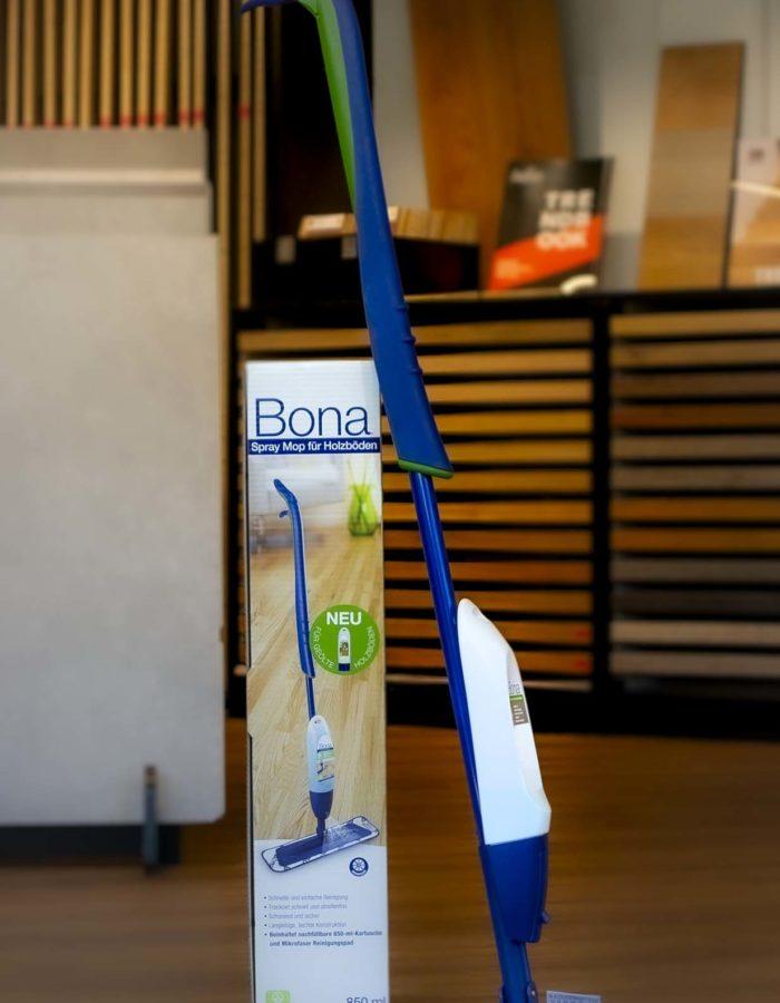 Bona Bodenwischer Spray Mop ParkettHandwerker empfehlen Bona als die beste Pflege für Holzböden. Der Bona Spray Mop für Parkett ist ein hochwertiger Sprühmopp