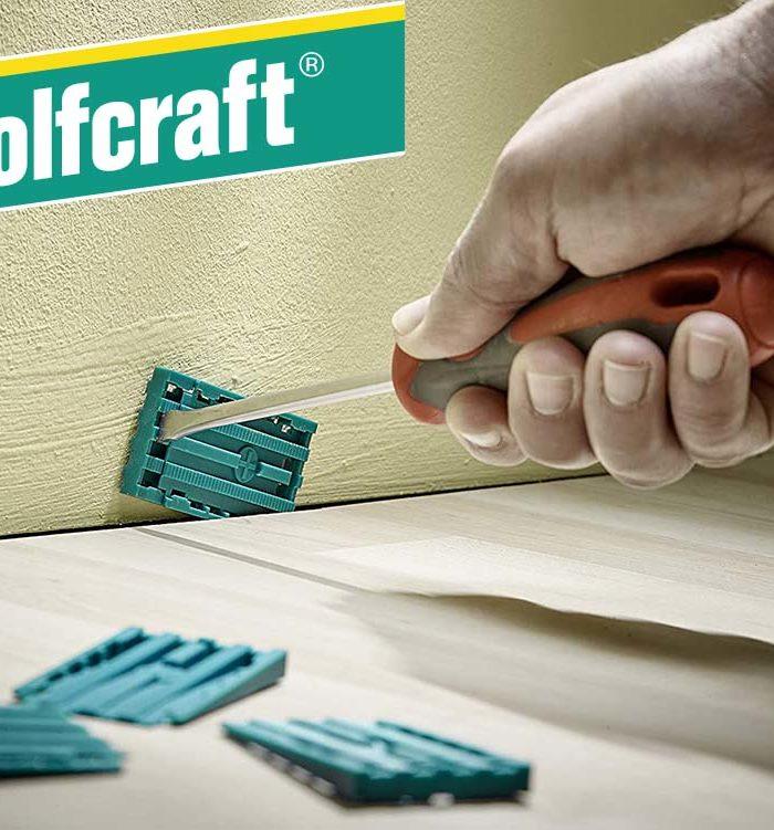 Wolfcraft Universal-Keile 30 Stück 35 x 6 x 60 mm Anwendung
